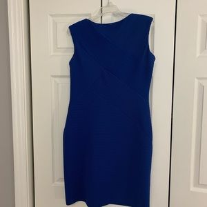 Calvin Klein Royal Blue Sleeveless Dress Size 10